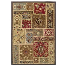 Oriental Weavers Huntington 1716C Oriental Beige and Brown Area Rug
