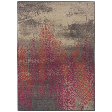 Oriental Weavers Kaleidoscope 504J Abstract Grey and Pink Area Rug