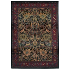 Oriental Weavers Kharma 470X Floral Red and Blue Area Rug