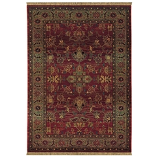 Oriental Weavers Kharma 836C Oriental Red and Green Area Rug