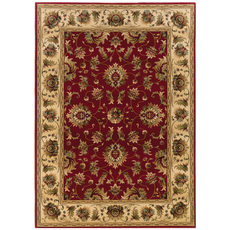 Oriental Weavers Knightsbridge 211V Oriental Red and Beige Area Rug