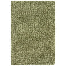 Oriental Weavers Loft 520I Shag Green and Ivory Area Rug