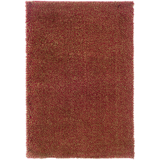 Oriental Weavers Loft 520O Shag Red and Gold Area Rug