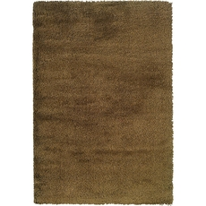 Oriental Weavers Loft Collection 520J Shag Gold and Gold Area Rug