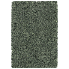 Oriental Weavers Loft Collection 520X Shag Black and Ivory Area Rug