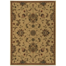 Oriental Weavers Parker 5835A Oriental Beige and Rust Area Rug