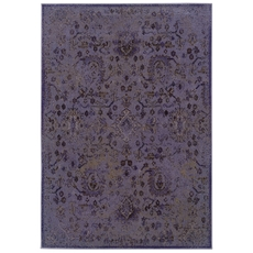 Oriental Weavers Revival 3692E Oriental Purple and Beige Area Rug