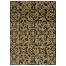 Oriental Weavers Stella 3336A Floral Gray and Black Area Rug