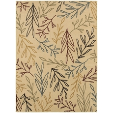 Oriental Weavers Stratton 5411C Floral Ivory and Multi Area Rug