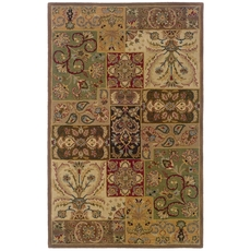 Oriental Weavers Windsor 23103 Oriental Beige and Brown Area Rug