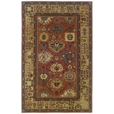 Oriental Weavers Windsor 23107 Oriental Pink and Beige Area Rug