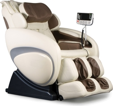 Osaki OS-4000 Executive Zero Gravity Massage Chair in Cream