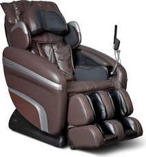 Osaki OS-7200H Executive Zero Gravity S-Track Heating Massage Chair in Brown