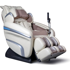 Osaki OS-7200H Executive Zero Gravity S-Track Heating Massage Chair in Cream