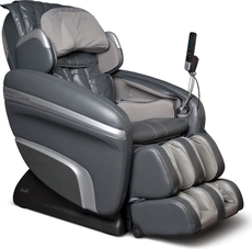 Osaki OS-7200H Executive Zero Gravity S-Track Heating Massage Chair in Charcoal