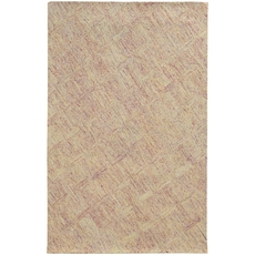 Pantone Universe Colorscape 42108 Geometric Pink and Beige Area Rug by Oriental Weavers
