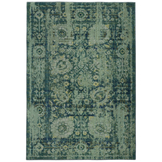 Pantone Universe Expressions 3333G Oriental Blue and Green Area Rug by Oriental Weavers