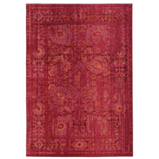Pantone Universe Expressions 3333R Oriental Pink and Red Area Rug by Oriental Weavers