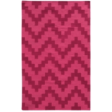 Pantone Universe Matrix 4714A Geometric Pink Area Rug by Oriental Weavers