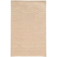 Pantone Universe Optic 41108 Geometric Pink and Ivory Area Rug by Oriental Weavers