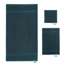 PEM America London Fog 6 Piece Quick Dry Towel Set in Colonial Blue