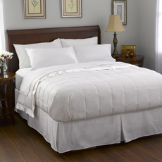 Pacific Coast Feather Satin Trim Down King Blanket in White