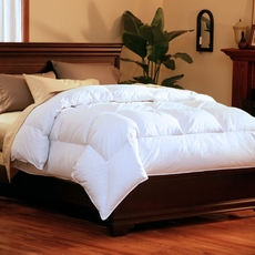 Pacific Coast Feather Super Loft Twin Down Comforter in White