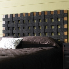 Padma's Plantation Seagrass Open Weave Headboard