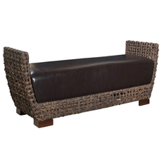 Padma's Plantation Tambe Bench in Kubu Grey