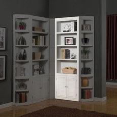 Parker House Boca 32 Inch Open Top Bookcase