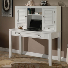 Parker House Boca 47 Inch Writing Desk with Hutch