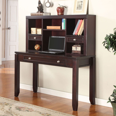 Parker House Boston 47 Inch Writing Desk with Hutch
