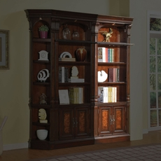 Parker House Corsica 32 Inch Open Top Bookcase