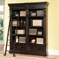 Parker House Grand Manor Palazzo 2 Piece Museum Bookcase