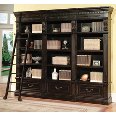 Parker House Grand Manor Palazzo 3 Piece Museum Bookcase