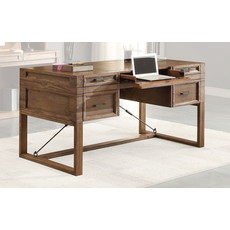 Parker House Hickory Creek 60 Inch Writing Desk with Power Center