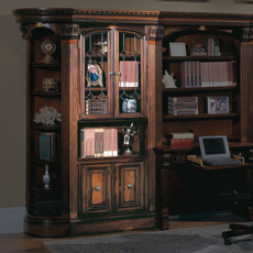 Parker House Huntington Glass Door Bookcase