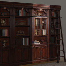 Parker House Wellington Glass Door Bookcase