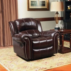 Parker Living Comfort Poseidon Glider Recliner in Cocoa