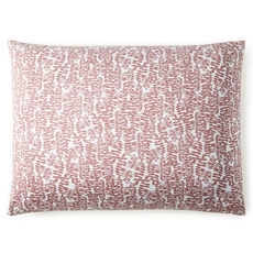 Peacock Alley Fern Standard Pillow Sham - Berry