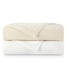 Peacock Alley Newport Twin Blanket