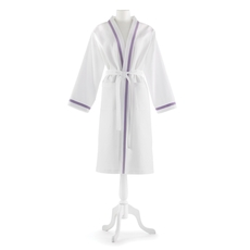 Peacock Alley Pique Bathrobe