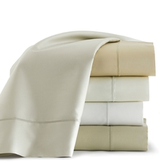 Clearance Peacock Alley Soprano Full Fitted Sheet in White OVLB0818024