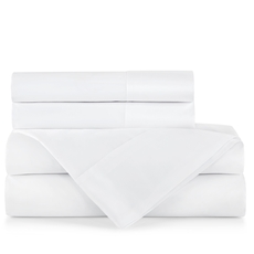 Peacock Alley Supima Queen Flat Sheet