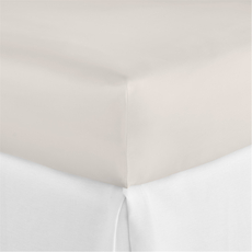 Peacock Alley Virtuoso Queen Fitted Sheet in Platinum
