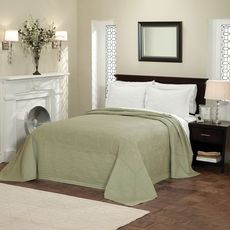 Pem America American Traditions French Tile Bedspread in Sage
