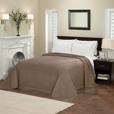 Pem America American Traditions French Tile Bedspread in Taupe