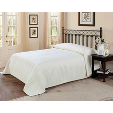 Pem America American Traditions French Tile Bedspread in Ivory