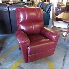 Clearance Palliser Gilmore Rocker Recliner in Carnival Riviera Leather