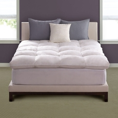 Pacific Coast Feather Luxe Loft Twin Feather Bed in White